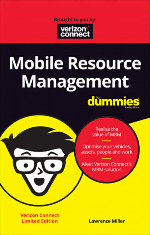 Verizon Connect eBook ENG Cover Mobile Resource Management for Dummies